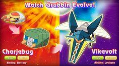 Grubbin Evolution Chart