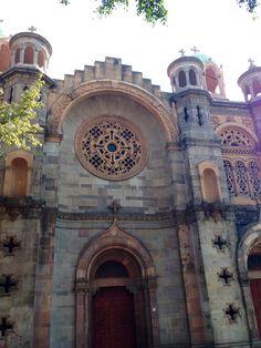 Iglesia de Santa Maria, Mexico DF