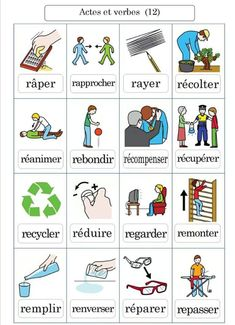 French Adjectives, French Verbs, French Grammar, French Phrases, French Language Lessons, French Language Learning, French Lessons, French Flashcards, French Worksheets