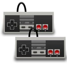 Nintendo Classic Mini Controller Retro GamePad Old-Skool Game Controllers 2 Pack #TwitFish