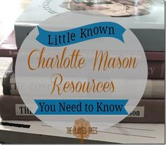 The Planted Trees: Little Known Charlotte Mason Resources You Need to...