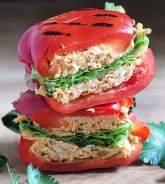 Low Carb Recipes To The Prism Weight Reduction Program Tuna Tahini Pepper Panini Kasia Olm Copy Me That Low Carb Recipes, Cooking Recipes, Healthy Recipes, Healthy Food Substitutes, Salad Recipes, Diet Recipes, Recipies, Plats Healthy, Healthy Snacks
