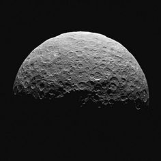A photo of Ceres taken by the Dawn spacecraft. Ceres was once considered a planet before it was downgraded to an asteroid. Since Ceres has been classified as a dwarf planet like Pluto, the former ninth planet. (NASA via Associated Press) Asteroid Mining, Asteroid Belt, Sistema Solar, Ceres Asteroid, Planets And Moons, Dwarf Planet, Nasa Missions, Space And Astronomy, Space Probe