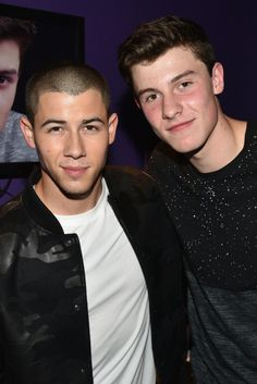 Shawn Mendes and Nick Jonas