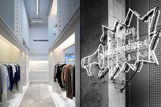 Maison Martin Margiela store, Nagoya store design | PRIMARYNY.COM