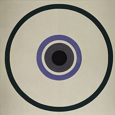 October / Kenneth Noland / 1961 / acrylic on canvas