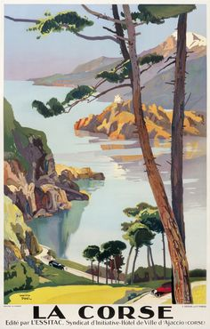 Lucien Peri Poster: La Corse - PLM