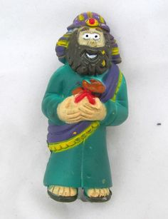Wiseman Wisemen Arabian King Nativity Manger Figurine Figure Christmas Decor