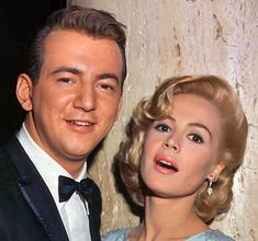Bobby Darin & Sandra Dee ~ An adorable couple who married and had a son who looks just like his dad.  Two special people who left us too soon.