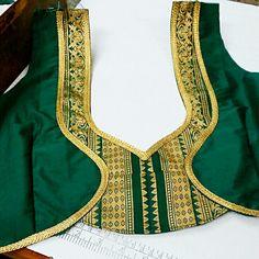 Blouse Back Neck Designs, Blouse Designs Silk, Designer Blouse Patterns, Work Blouse, Blouse Dress, Fashion Blouses, Blouse Models, Ankara Styles, Indian Designer Wear