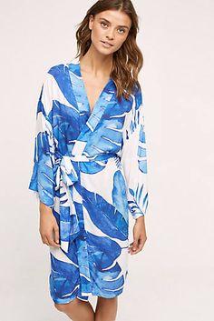 Ocean Palm Robe