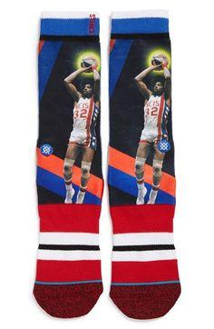 Stance 'Julius Erving - Trading Card' Socks