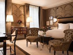 La Réserve, nouvel hôtel 5 étoiles à Paris http://journalduluxe.fr/la-reserve-paris/