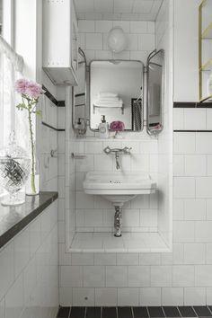 Metro Fliesen Weiß Dunkle Fuge GoogleSuche Bathroom Ideas - Weiße fliesen dunkle fugen