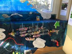 school of fish - Plastic Free July art installation displayed at Manly Sea-Life