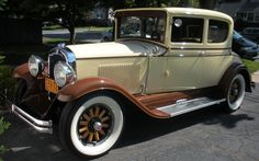 This 1929 REO Victoria owned by Bill Murray of Farmingdale is completely restored, including the wooden wheels, and has 1929 license plates.