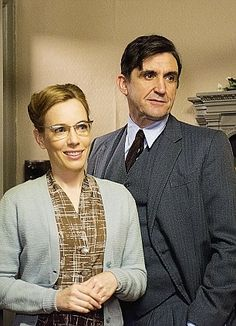 Patrick & Shelagh from Call the Midwife! They have to be my favourite tv couple ever! There story is so sweet.