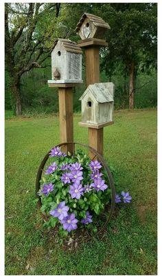 Garden Yard Ideas, Diy Garden, Spring Garden, Garden Projects, Garden Art, Backyard Ideas, Diy Projects, Pool Ideas, Patio Ideas