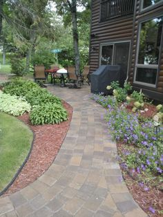 Walkways!  If you need some landscaping done around your house or workplace, call Lawn Tigers Landscaping in Walled Lake, MI at (248) 669-1980 to schedule an appointment TODAY or visit our website www.lawntigers.net for more information!