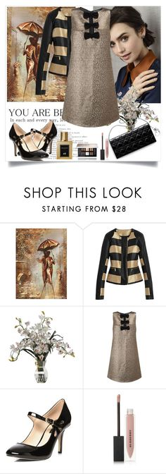 """""""Untitled #1116"""" by misaflowers ❤ liked on Polyvore featuring Miss Selfridge, Dorothy Perkins, Balmain, Burberry and Givenchy"""