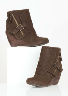 Bilocate Wedge Bootie By Blowfish - Boots - Shoes - dELiA*s