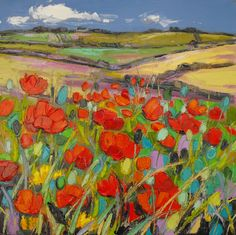by Judith Bridgland part of our stunning Cornish Landscape exhibition