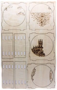 Marquetería para Regalar (con moldes) | Taringa! Laser Cutter Ideas, Laser Cutter Projects, Cnc Cutting Design, Laser Cutting, Wood Crafts, Diy And Crafts, Paper Crafts, Diy Cadeau, Wood Shadow Box