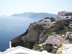 Floga, Oia- A great restaurant with spectacular views. An old bakery that has been restored.