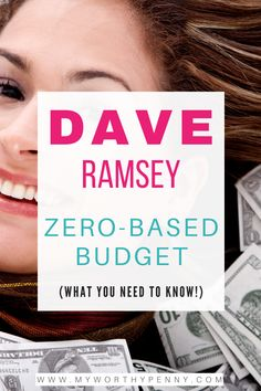 Simplifying Dave Ramsey Zero Based Budget - My Worthy Penny Budgeting System, Budgeting Finances, Budgeting Tips, Envelope Budget System, Monthly Budget Template, Total Money Makeover, Budget App, Budget Envelopes, Budgeting Worksheets