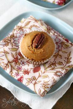 Gluten-free pumpkin muffins: I subbed oat flour for sorghum, coconut palm sugar (unrefined) for brown sugar, coconut oil for olive, flax eggs for eggs, and omitted lemon juice.  Added dark choc chips.  These were fabulous.  Made a 4x recipe bc I had 2 cans pumpkin.  Lots in the freezer now!