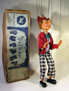 TYPE SL MADHATTER 1950'S SOLD - The Vintage Pelham Puppet Shop