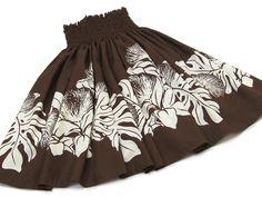 茶色(ブラウン)のパウスカート・レフア no.6300 Hula Dancers, Hawaiian, Island, Skirts, Style, Fashion, Swag, Moda, Skirt