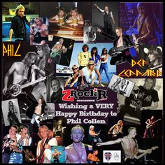 Phil Collen Collage' Photoartist LisaKay Allen/PassionFeast