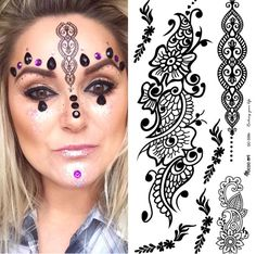 ✨ Glitter Face ✨  • www.glittermama.dk • www.facebook.com/stickertattoos • www.instagram.com/Metallicstickertattoos   👉🏻 www.etsy.com/shop/stickertattoos   World Wide Shipping.  ✨ Festivals & Raves & Other Parties ✨