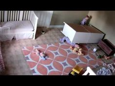 Hero Toddler gains superhuman strength to save twin brother from being crushed by chest of drawers
