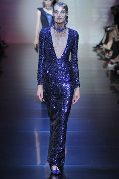 Armani Privé Fall 2012 Couture Fashion Show - Phenelope Wulff (VIVA)
