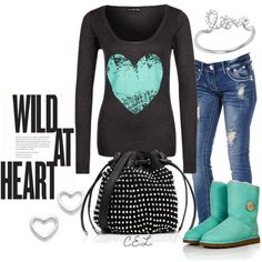 """""""wild at heart..."""" by sweetlikecandycane on Polyvore"""