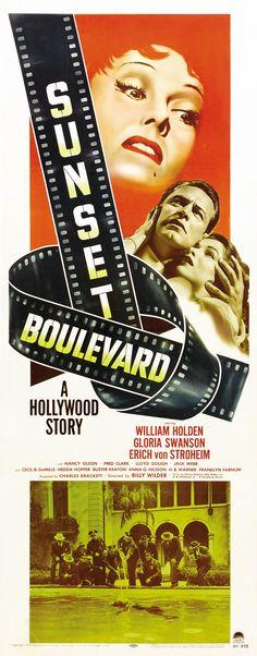 Sunset Boulevard, 1950. Premiered 10 August 1950