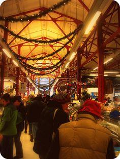 Findlay Market at Christmas