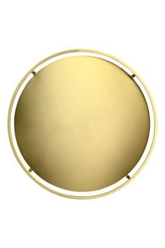 Round metal tray: Small, round tray in brushed metal. Diameter 25 cm, height of rim 4 cm.