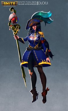 Treasure Hunter Aphrodite by Duckui on DeviantArt