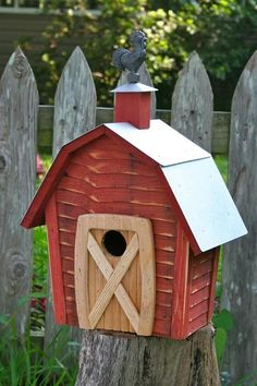 Rock City Birdhouse #birdhousedesigns