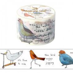 Aimez Le Style Dreamy Bird Washi Tape (38 mm)
