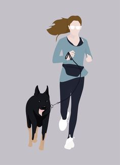 Flat Vector Woman Running with Her Dog - Photoshop Studium - Photoshop For Photographers, Photoshop Photography, Photography Lessons, Underwater Photography, People Illustration, Illustration Art, Actions Photoshop, Photoshop Elements, Drawing Faces