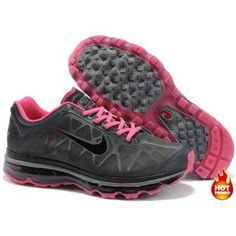 Nike Air Max 2011 Women Mesh Shoes Black/Pink Color