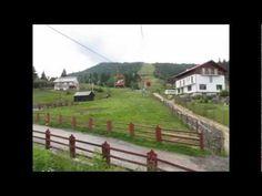 Urcare cu telescaunul la Complexul Turistic Borsa - YouTube