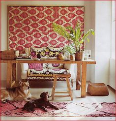 Textiles as Wall Art: Adding Patterns to Your Space