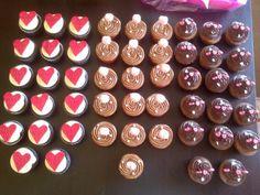 Cupcakes para una boda