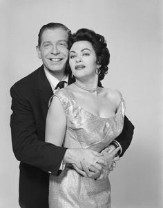 Milton Berle & Yvonne De Carlo