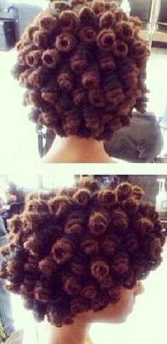Loc coils # Naturalhair - To learn how to grow your hair longer click here - http://blackhair.cc/1jSY2ux